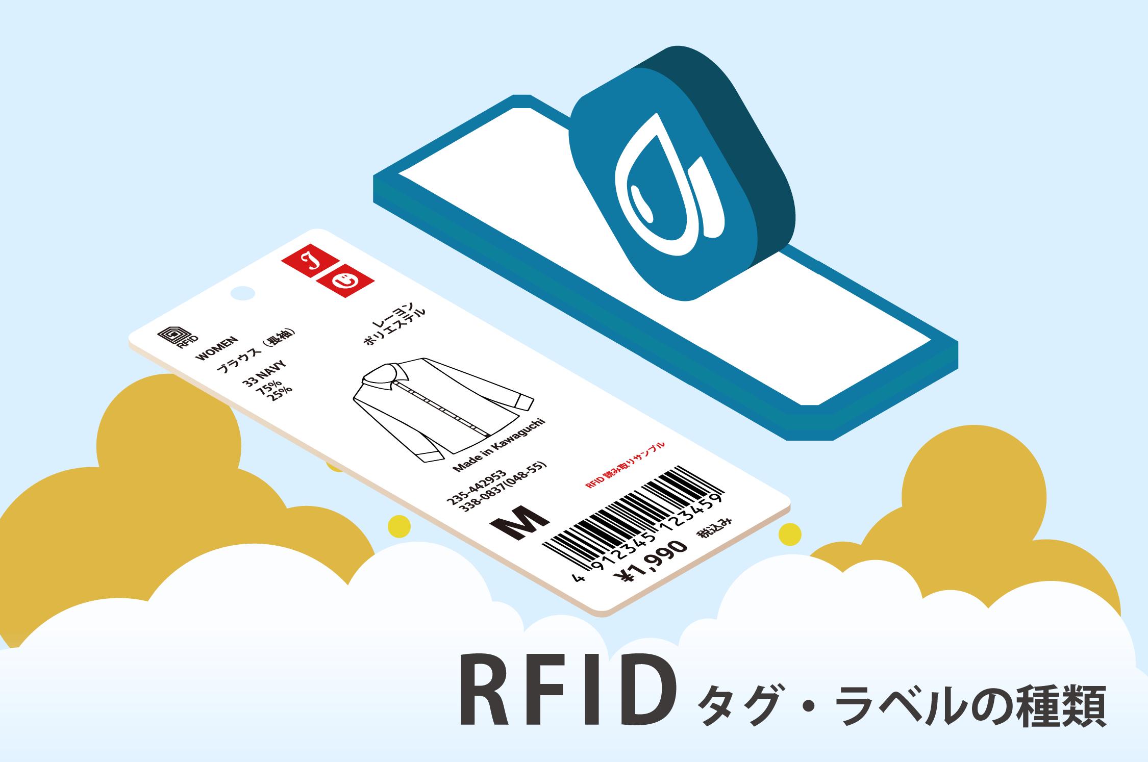 "RFIDタグ・RFIDラベルの種類 自動認識の【じ】 自動認識を""みじか""に ..."
