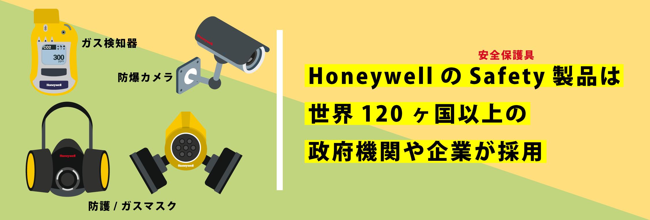 Honeywell防爆端末の歴史